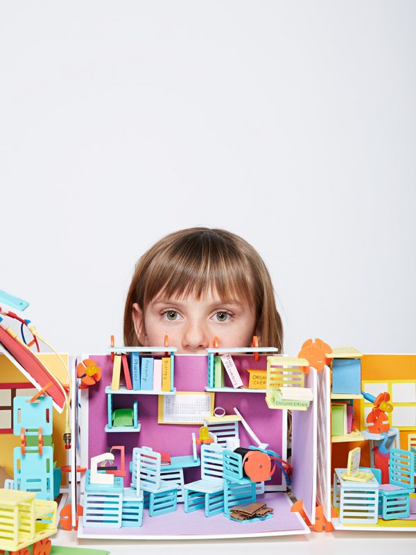 Roominate toys for San Francisco magazine.