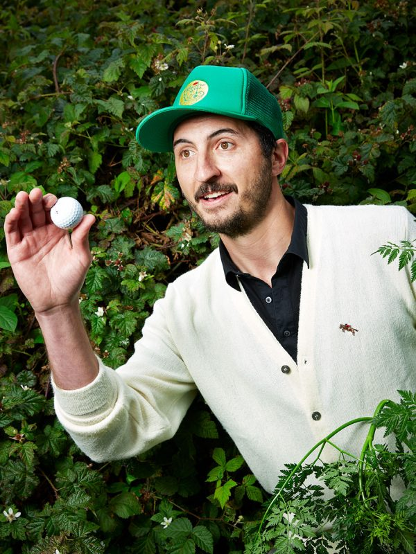 Jon Morley of Mediocre Golf Association for Golf Magazine.