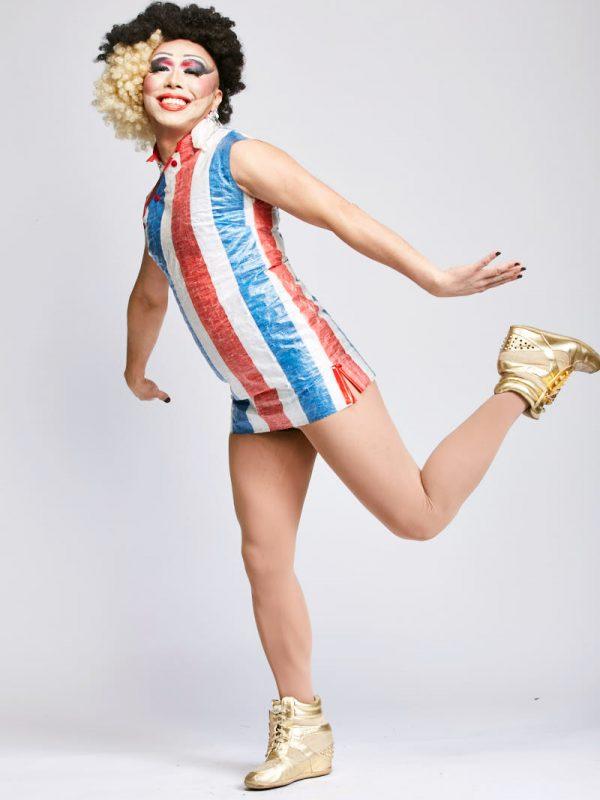 Doncha Vishyuwuzme of The Rice Rockettes for San Francisco magazine.