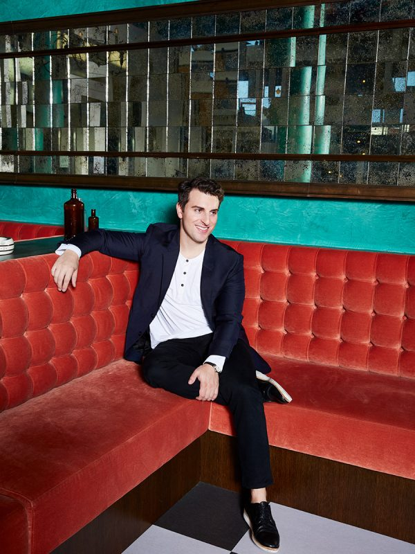 Brian Chesky of AirBnB for Wired UK
