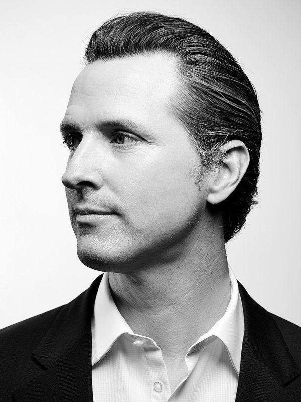 Gavin Newsom for Fortune magazine.
