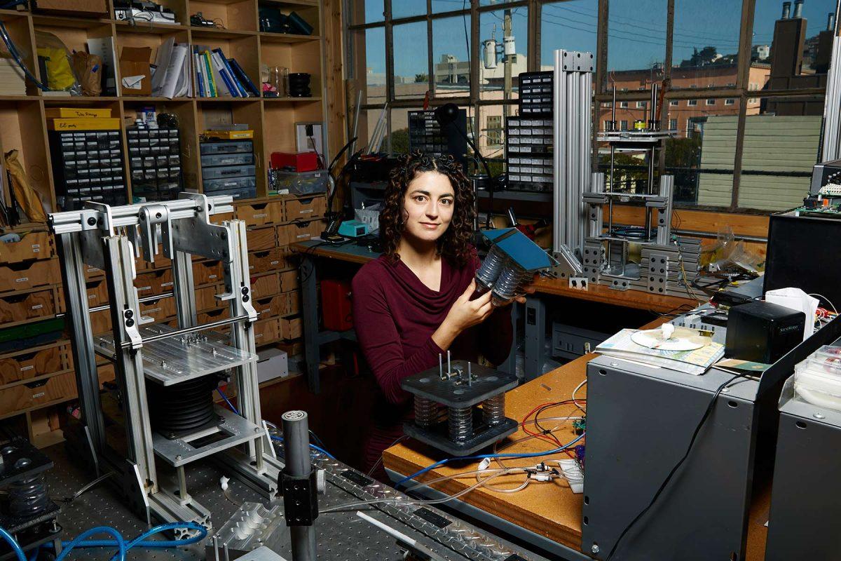Solar energy innovator, Leila Madrone.