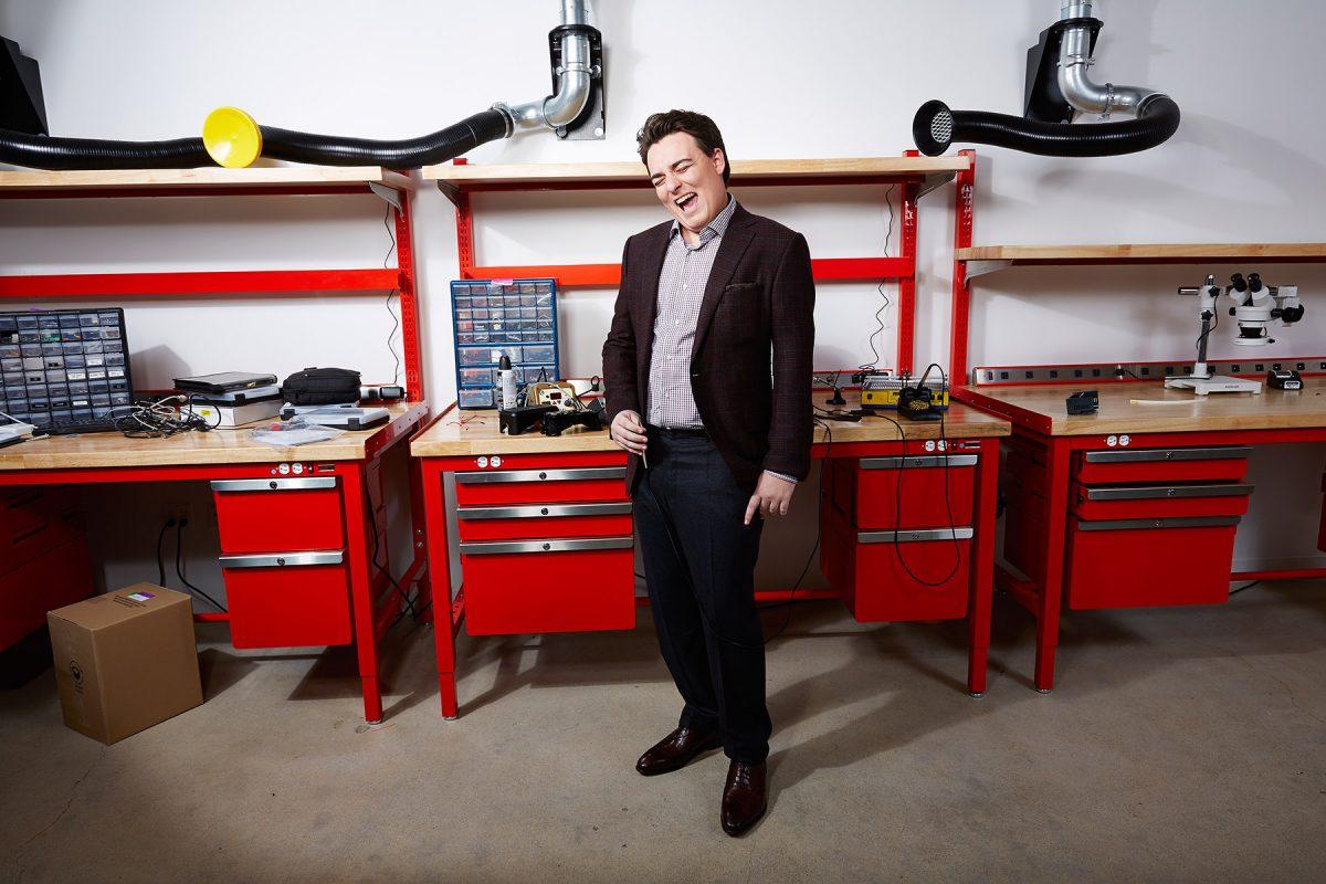 Palmer Luckey, Oculus Rift Inventor.