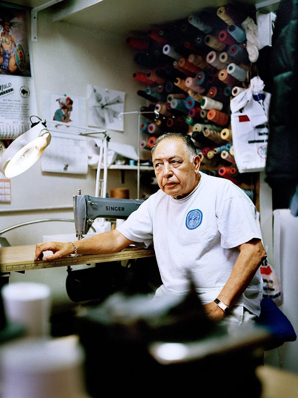 Rafael Porras of Rafael's Tailor Shop on 22nd and Valencia has moved to a less commercial area.