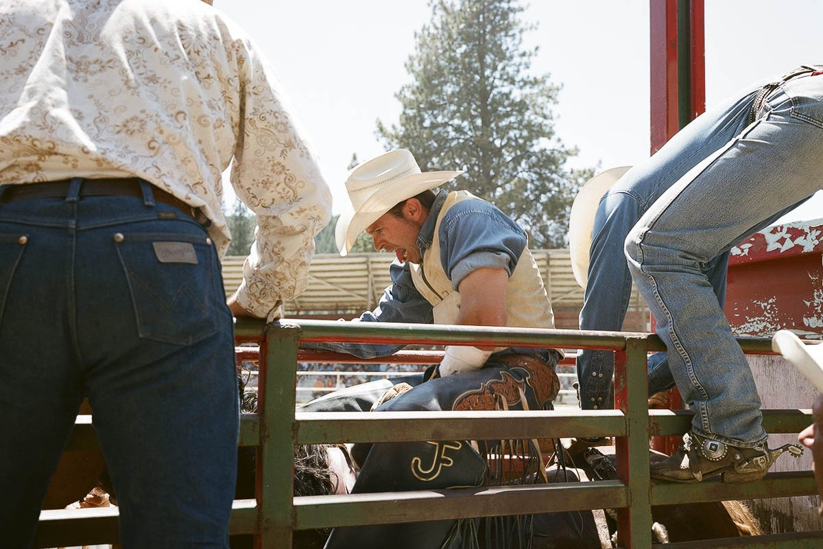 2008 Silver Buckle Rodeo in Taylorsville, California.