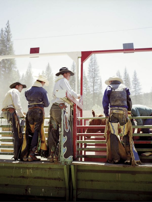Silver Buckle Rodeo in Taylorsville, California. 2008.