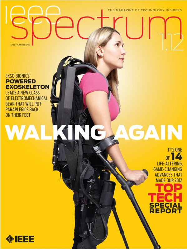 Ekso Bionics for IEEE Spectrum