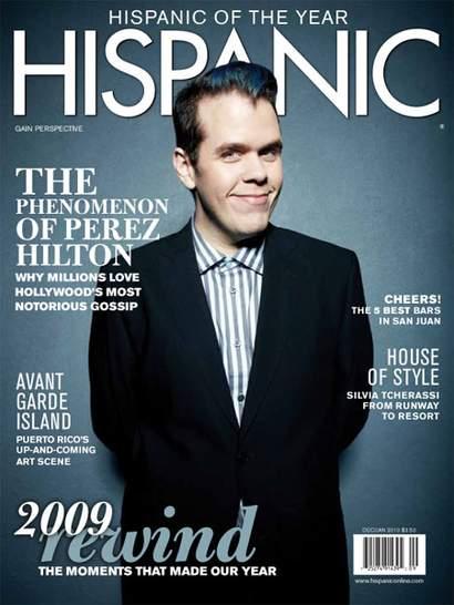 Perez Hilton for Hispanic Mag.