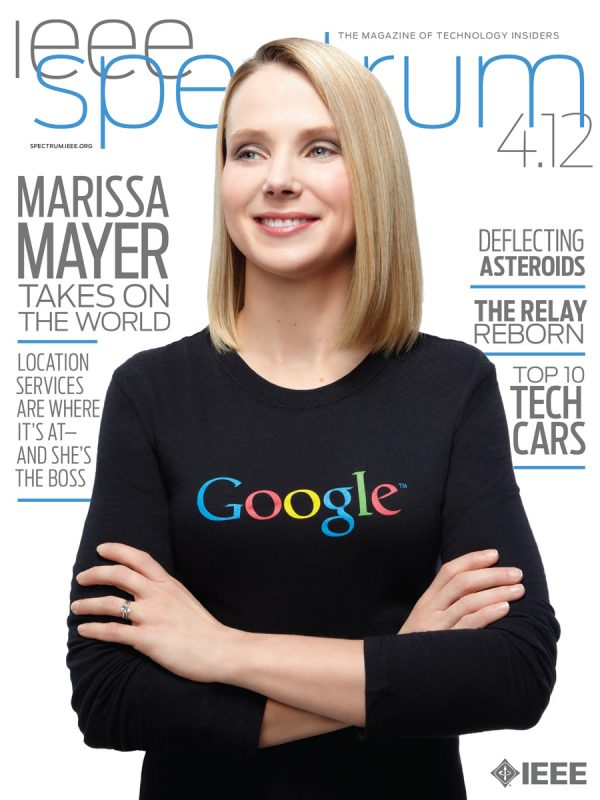 Marissa Mayer for IEEE Spectrum.