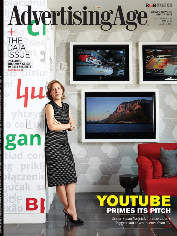 Susan Wojcicki for Ad Age.