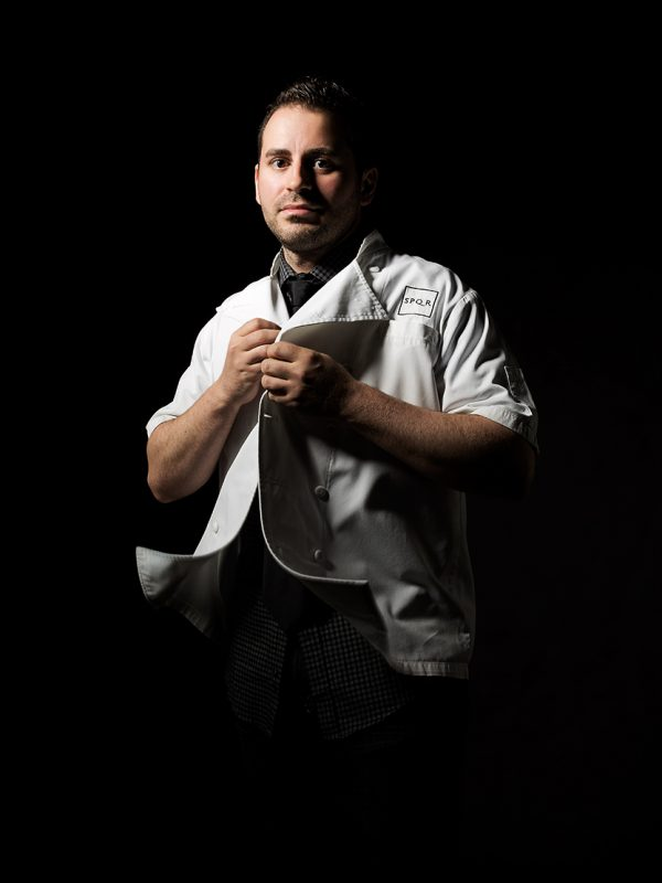 SPQR's Chef Matt Accarrini.