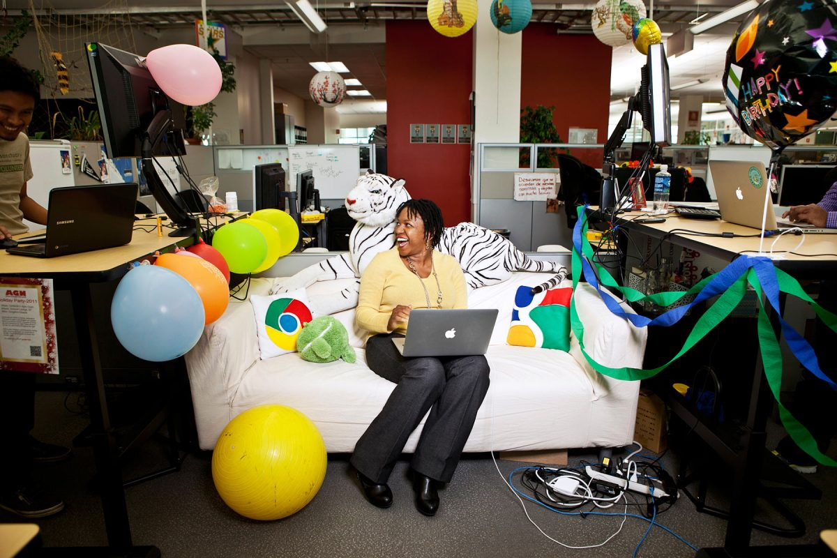 Stacy Brown-Philpot at Google.