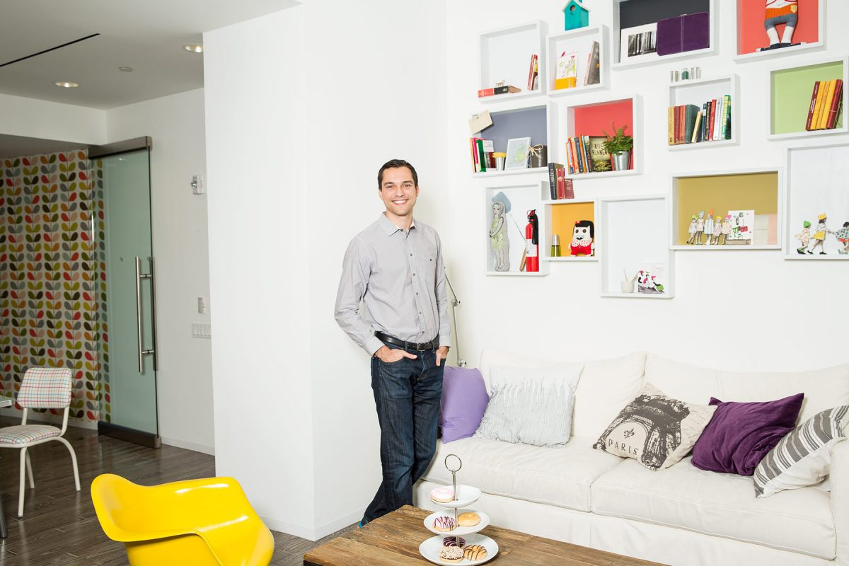 Airbnb Co-founder Nathan Blecharczyk.