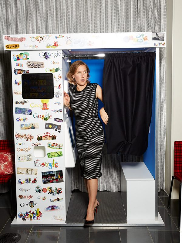 Susan Wojcicki of YouTube.