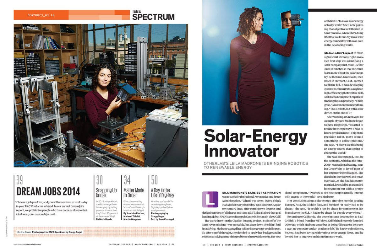 Leila Madrone for IEEE Spectrum