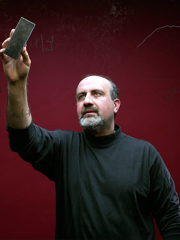 Nassim Taleb for WIRED.
