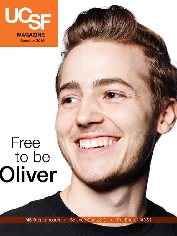 Oliver Bishop on Gender Identity for UCSF magazine.