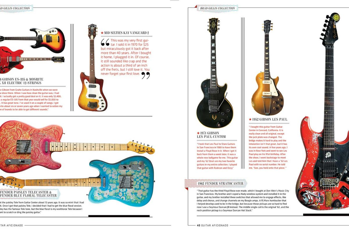 Brad Gilis' Guitars for Guitar Aficionado.