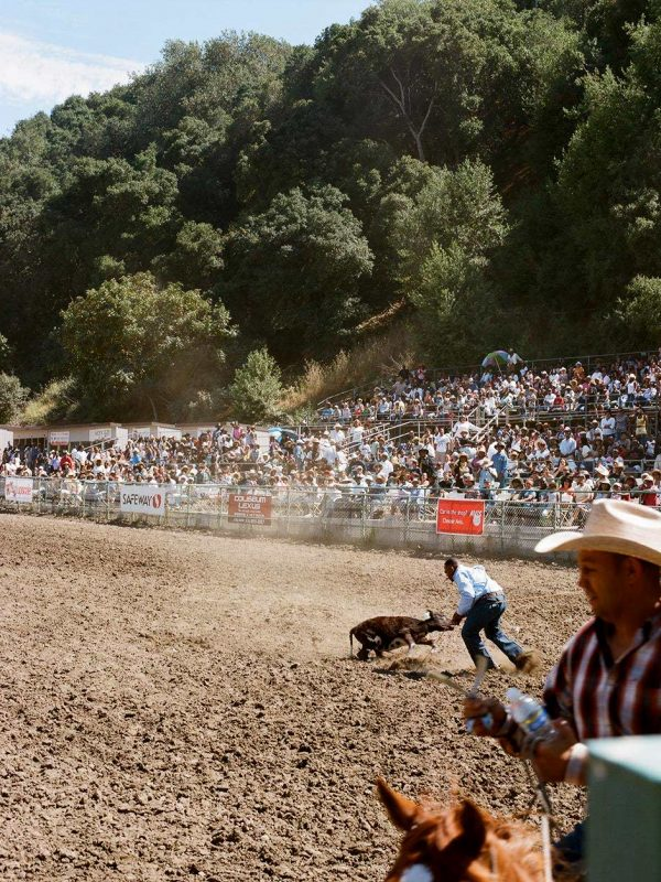 Bill Pickett Invitational Rodeo. Oakland, California. 2009