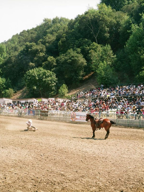 Bill Pickett Invitational Rodeo. Oakland, California.