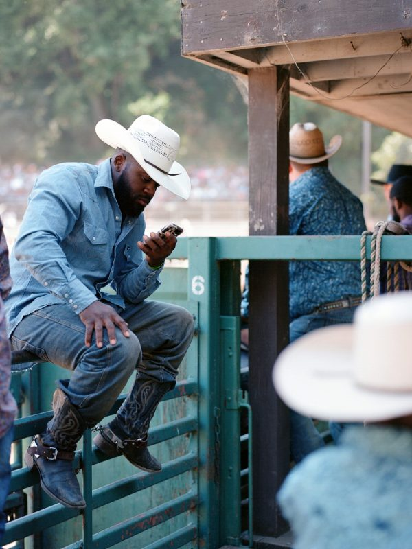 Bill Pickett Invitational Rodeo. Hayward, California.