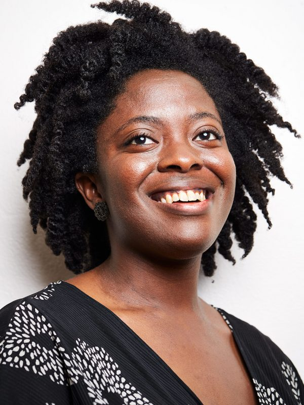 Yaa Gyasi, Author of Homecoming, a historical fiction, photographed in her apartment in Berkeley, California.