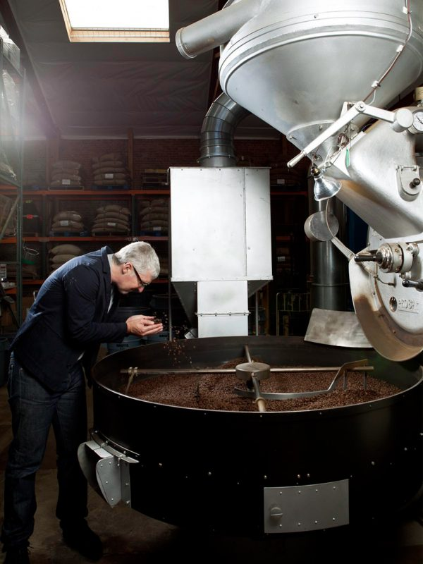 Blue Bottle Coffee founder James Freeman for Fortune magazine.