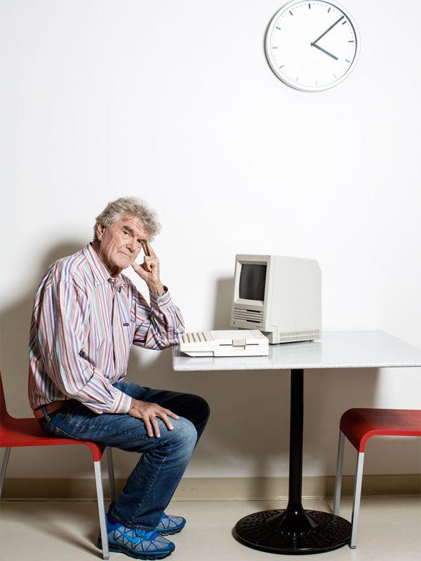 Frog Design founder, Hartmut Esslinger.
