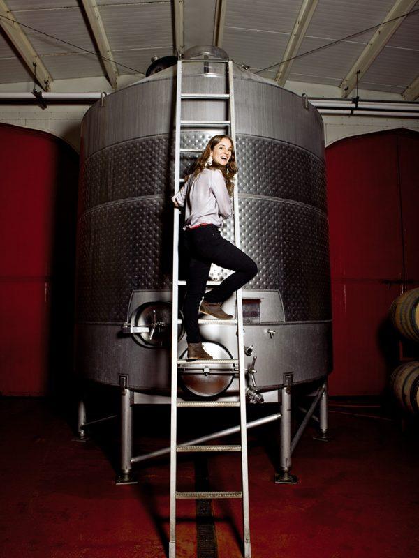 Winery for Imbibe magazine.