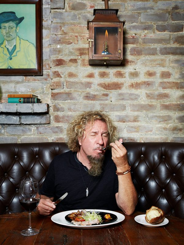 Sammy Hagar for San Francisco magazine.