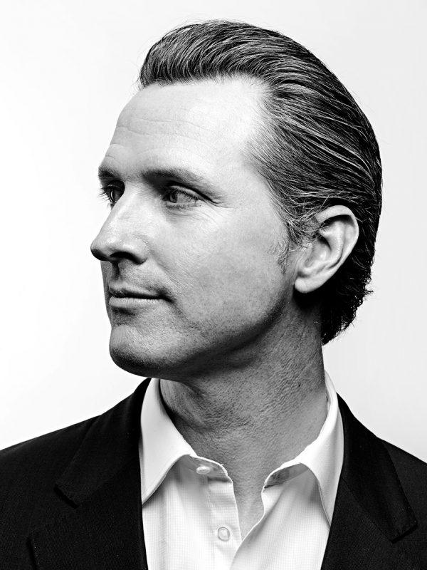 Gavin Newsom, Lieutenant Governor of California since 2011.