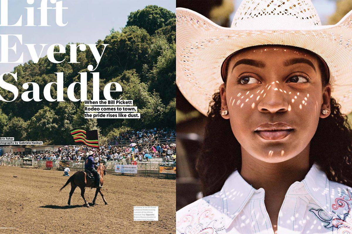 Black Rodeo - Bill Pickett Invitational- San Francisco Magazine