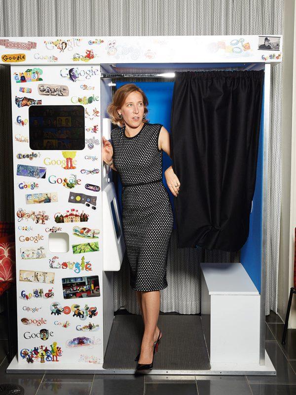 Susan Wojcicki, CEO of YouTube, for Advertising Age magazine.