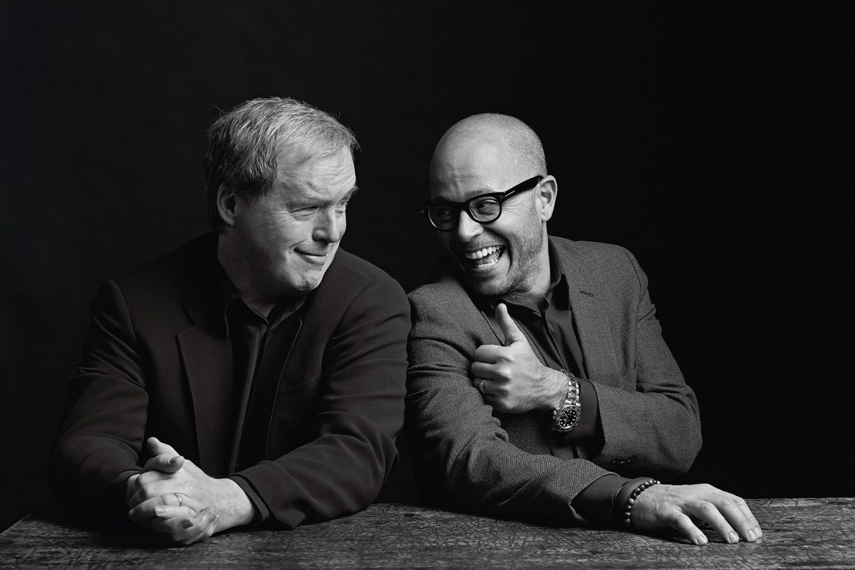Brad Bird and Damon Lindelof of the film Tomorrowland.