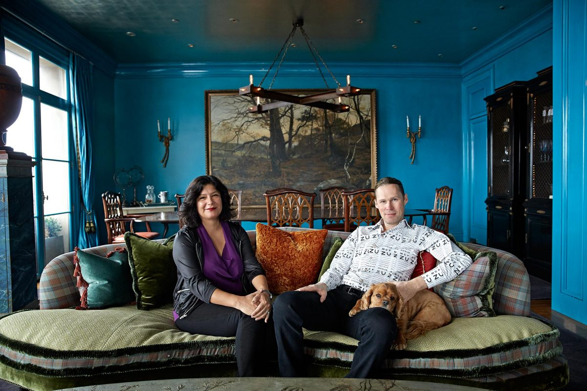 Zochi and Michael Birch shot at home in San Francisco for The Sunday Times.