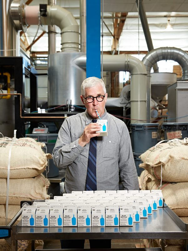 James Freeman of Blue Bottle Coffee for Imbibe magazine.
