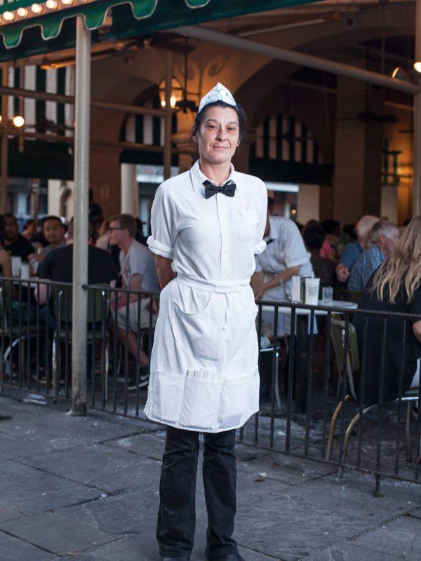 Donna. Cafe Du Monde, New Orleans. 2016