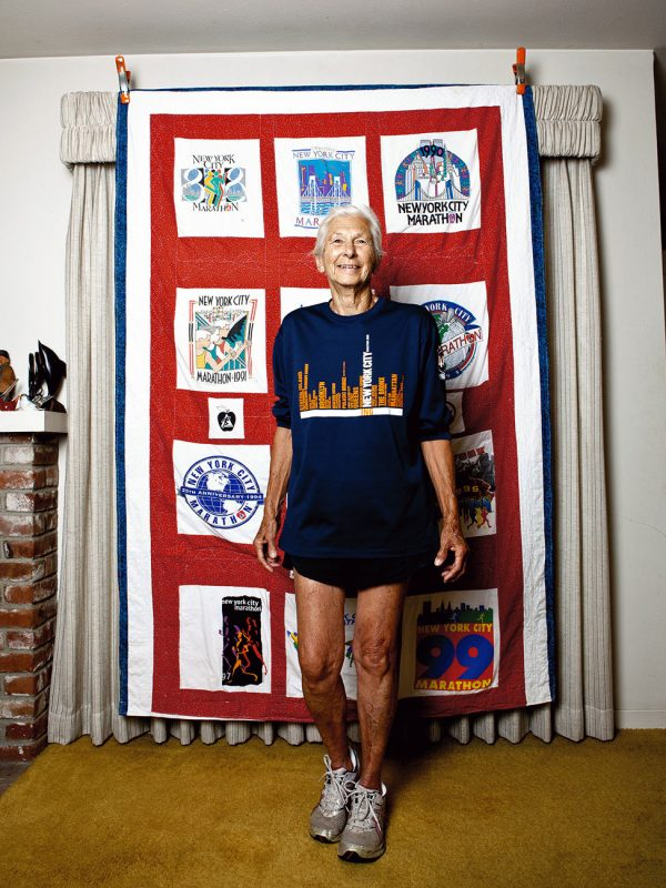Joy Johnson, age 84, will be running her 24th NYC marathon this November.