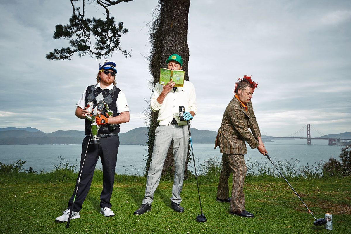 Mediocre Golf Association at Lincoln Golf Course In San Francisco.