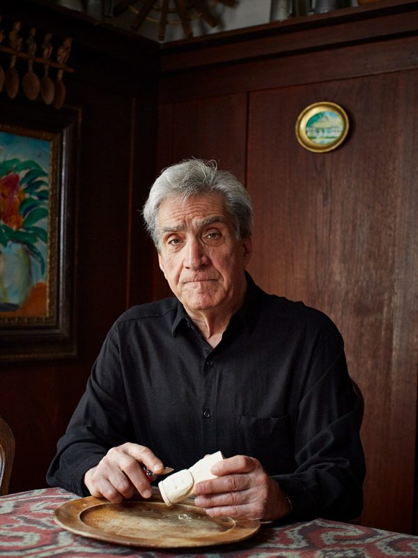 Poet Robert Pinsky photographed in San Francisco on February 13, 2017.