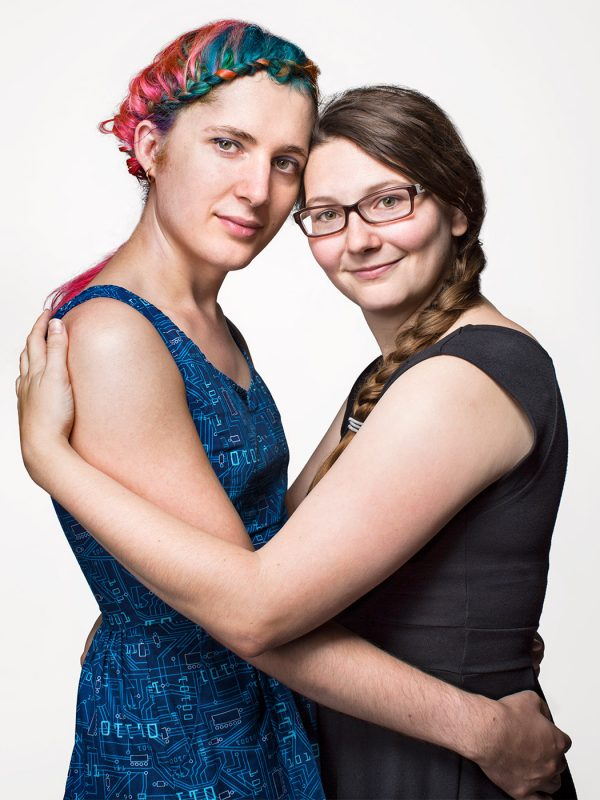 Trans Couple Holden and Carolyn.