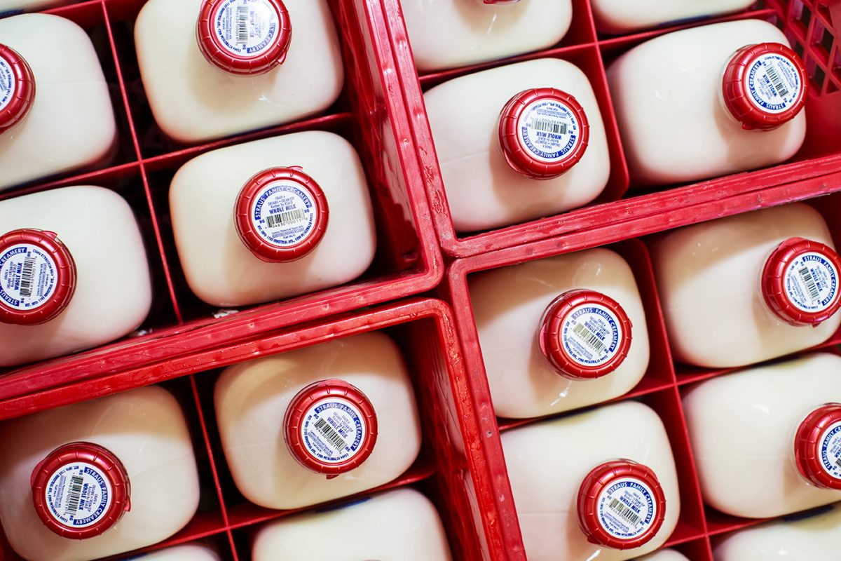 Straus Creamery in in the small town of Marshall on the Northern California Coast, we were the first certified organic dairy west of the Mississippi River and the first 100% certified organic creamery in the United States.