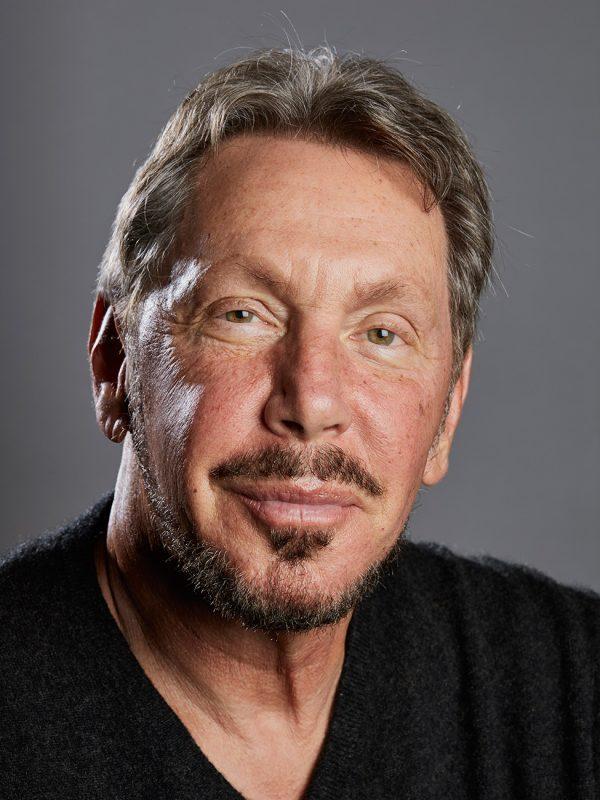 Oracle Co-Founder, Larry Ellison.