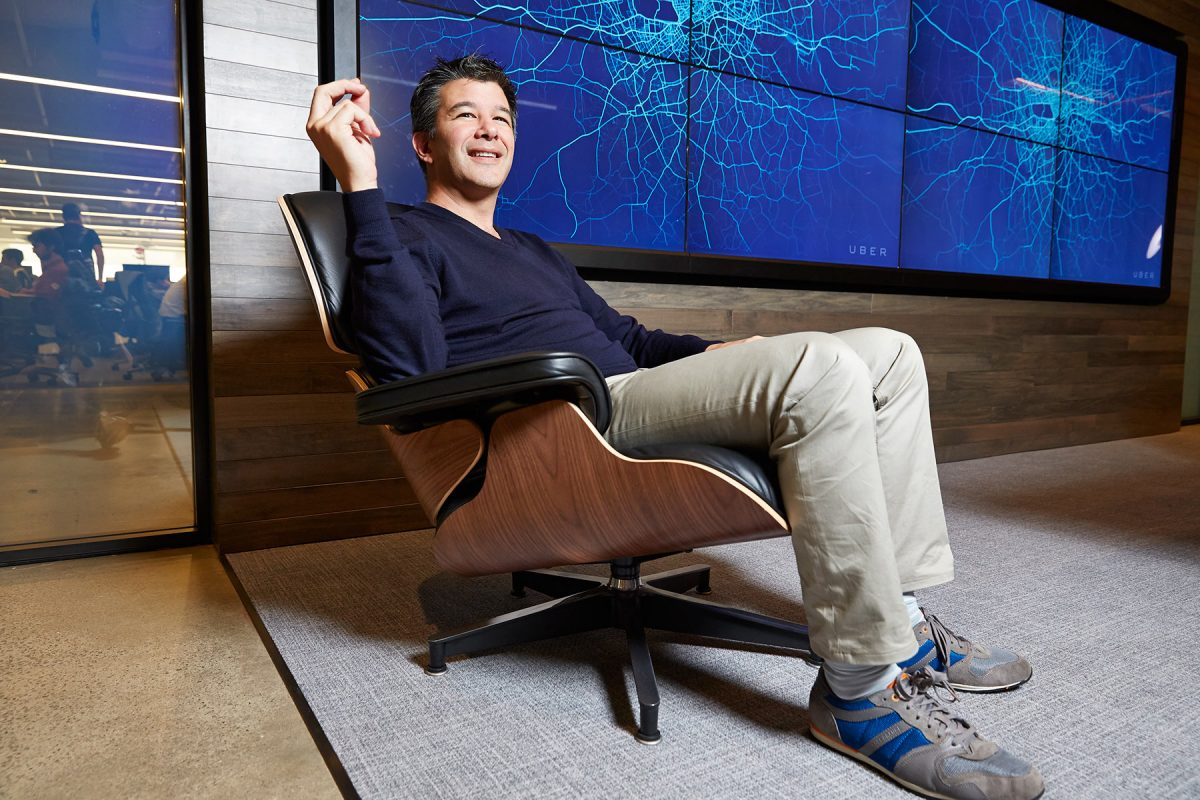 Travis Kalanick, Uber CEO and Co-Founder.