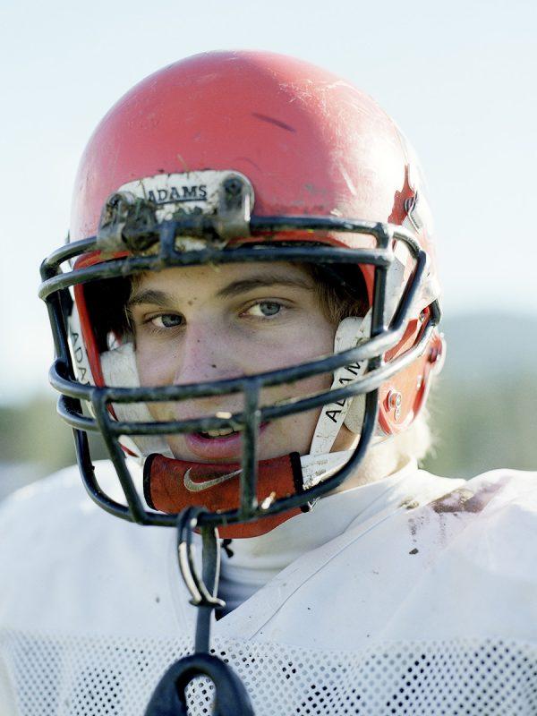 Greenville High School football players.