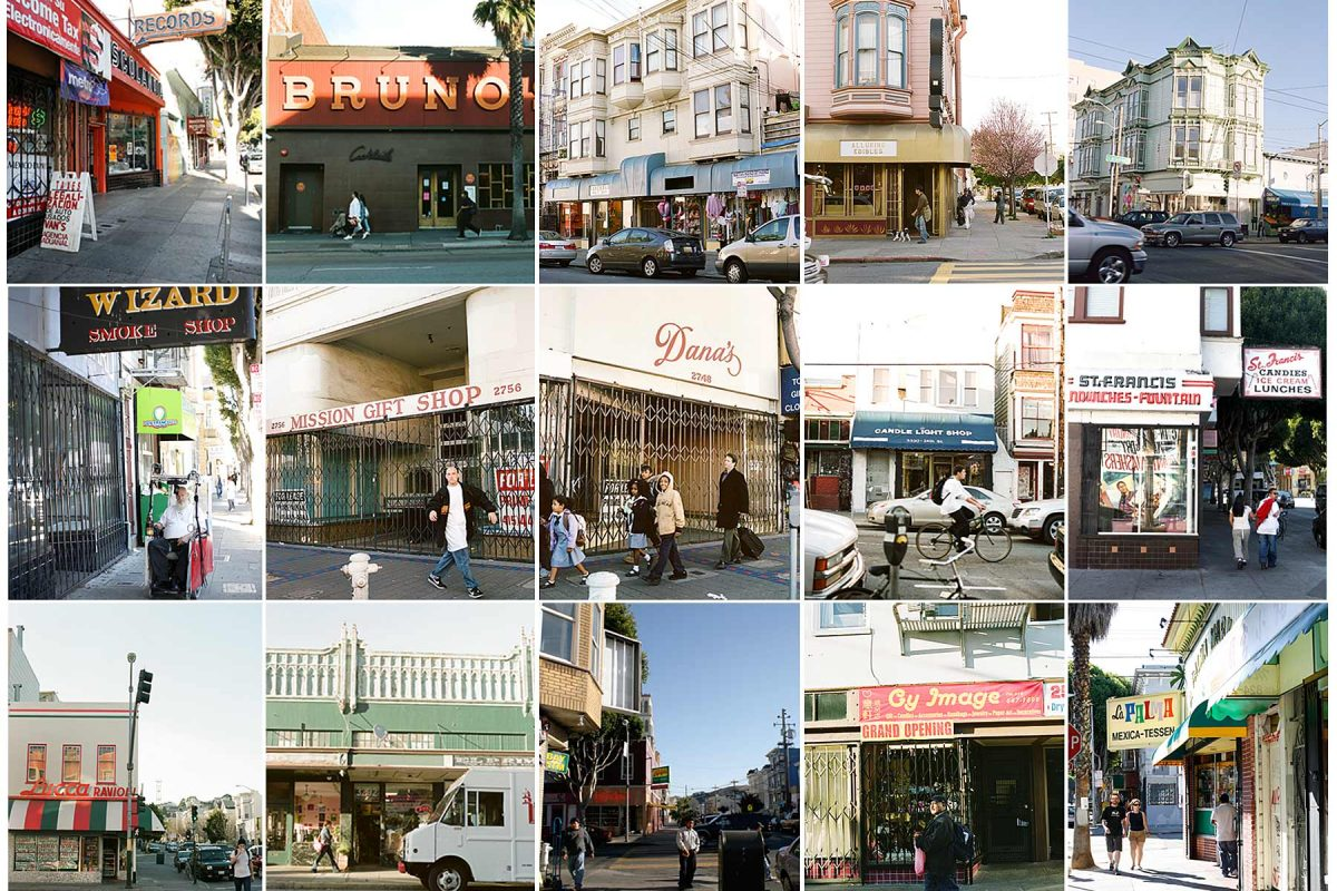 Mission Street has seen extreme gentrification over the past 15 years. Many of the mom and pop shops that made the neighborhood so special have had to close due to high rents. H