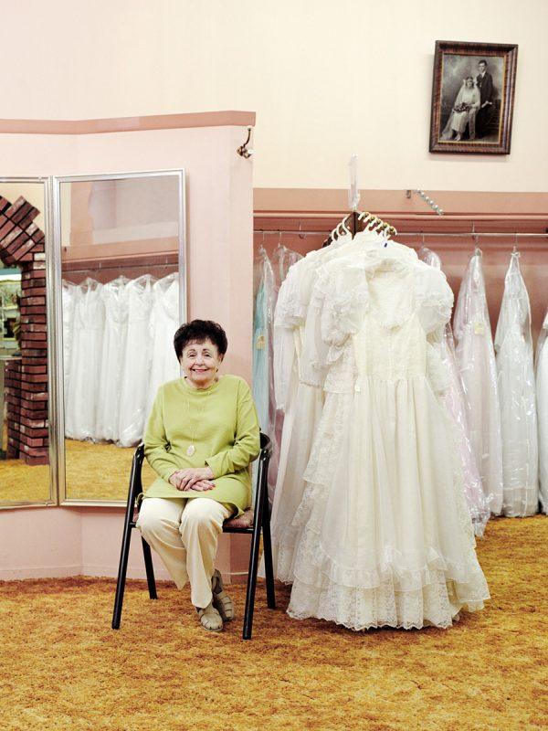 Dana Puccineliof Dana's Bridal Shop.