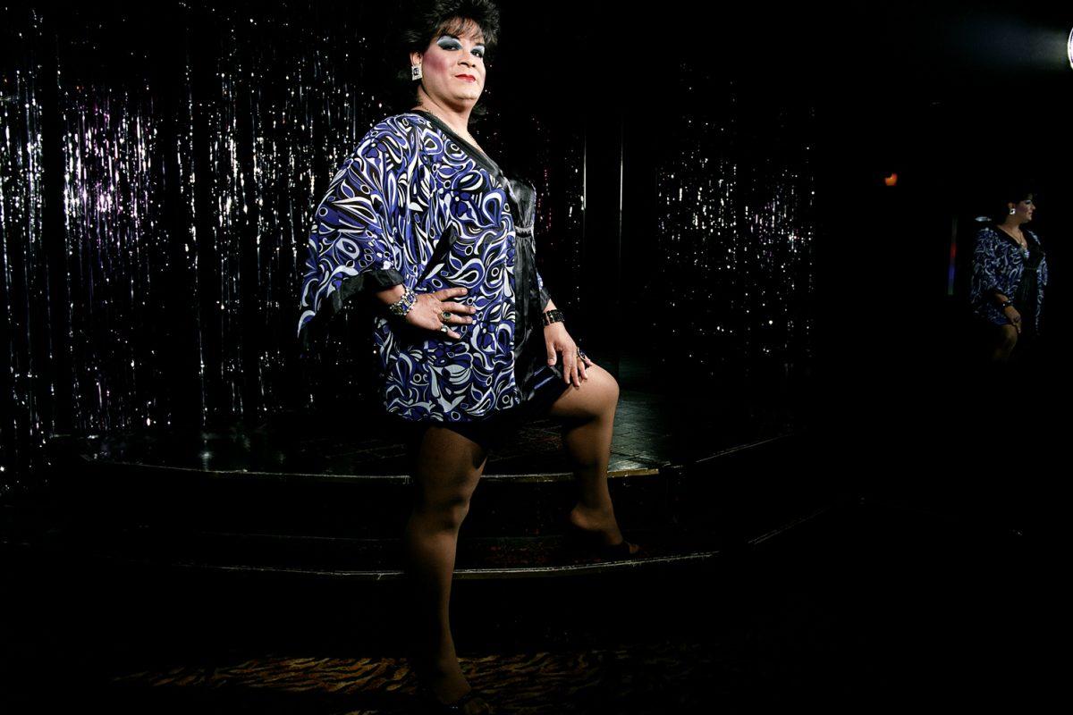 Alexis Miranda at Divas Bar and Lounge.