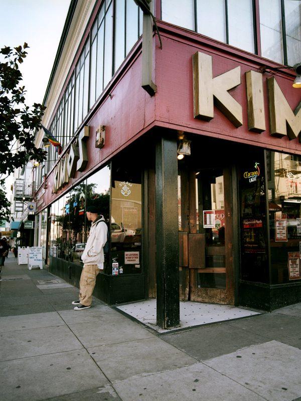 Kimo's Bar and Penthouse Lounge on Polk and Pine Streets.
