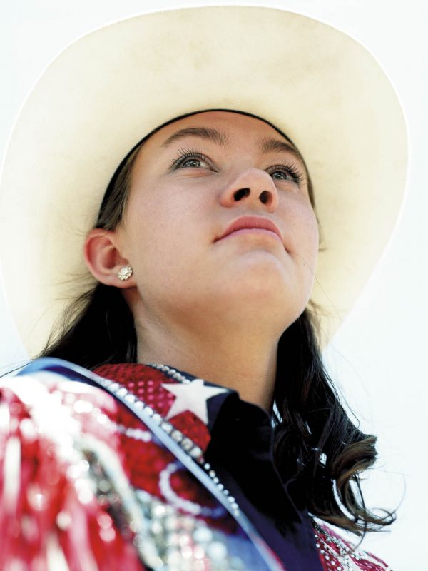 Jessica Lusk is named rodeo queen at the 2008 Taylorsville Rodeo & Team Roping.